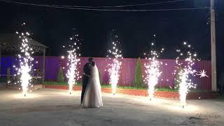 Фейерверки Рязани. Фонтаны для свадьбы.