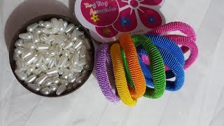 simple amazing idea easy trick hand design beautiful flower tricks hand embroidery #2