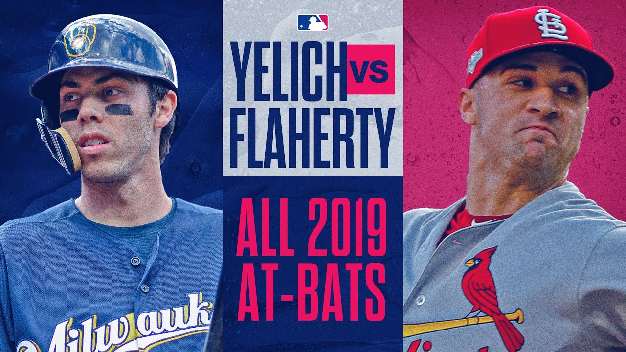 Christian Yelich vs. Jack Flaherty - Full At-Bats from 2019 (Brewers + Cardinals have epic ABs!)