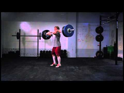 Chad Vaughn, 315-lb. Clean and Jerk