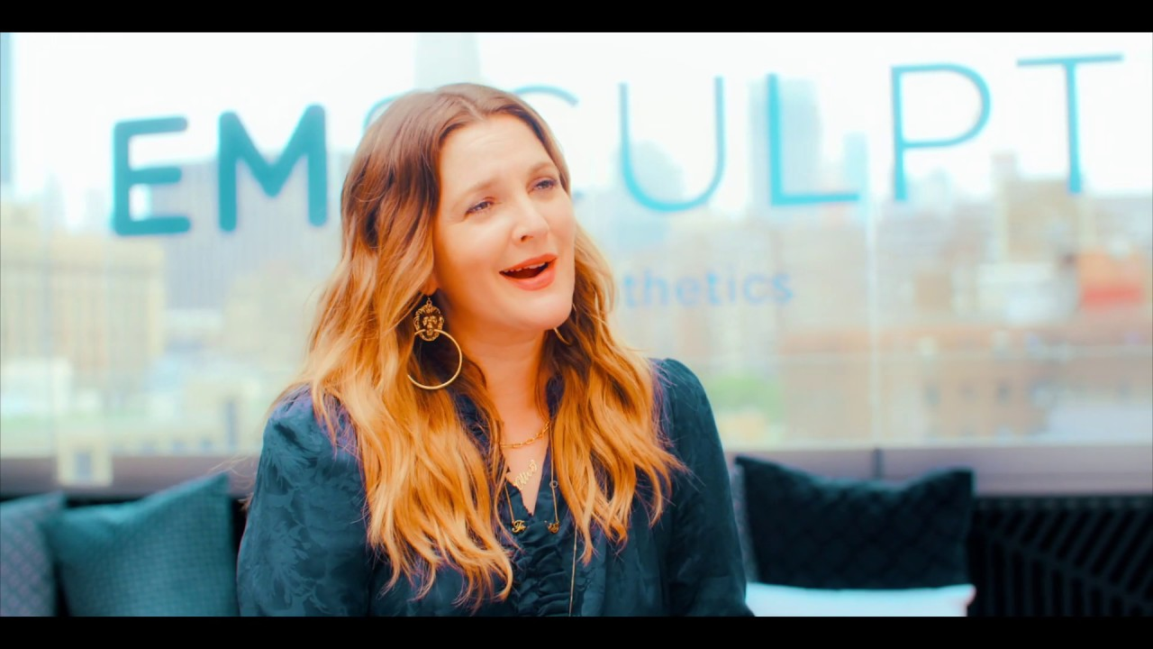 """Drew Barrymore & Emsculpt® : """"All The Cool Girls Are Doing It."""""""