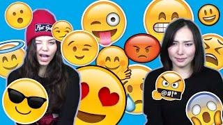 """Реакция пробует Эмоджи Челлендж (""""Смайлики Челлендж"""", """"Emoji Challenge"""")"""