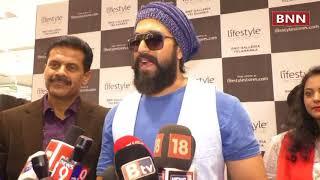 ROCKING STAR YASH inaugurated LIFESTYLE STORE at RMZ Galleria, Yelahanka, Bengaluru