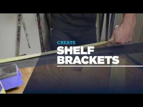 How to Make: DIY Shelf Brackets