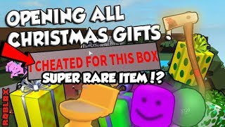 OPENING THE GIFTS!! WHAT IS THIS ITEM?? ( + giveaway winners ) Roblox LT2