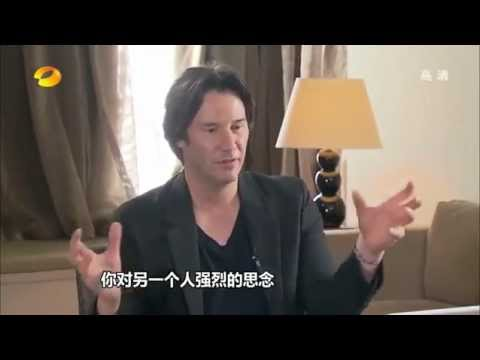 "2013 Keanu Reeves Interview for ""People in the news"" Hunan TV"