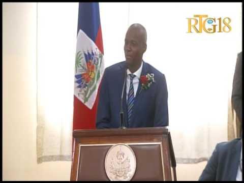 Le Président Jovenel Moïse a procédé à l'inauguration d'un centre dialyse à l'Hopital OFATMA