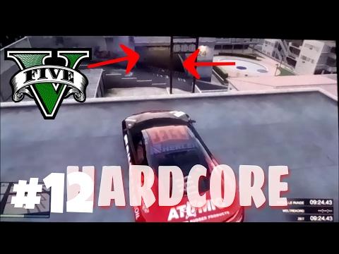 HARDCORE Auto Rennen | GTA V - CUSTOM MAP RENNEN