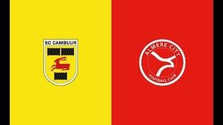 Samenvatting SC Cambuur - Almere City (play-offs promotie-degradatie)