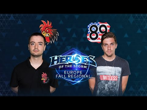 HOTS - Crowing Chickens Vs TEH89 - Game 1 - Group B - Europe Fall Regional