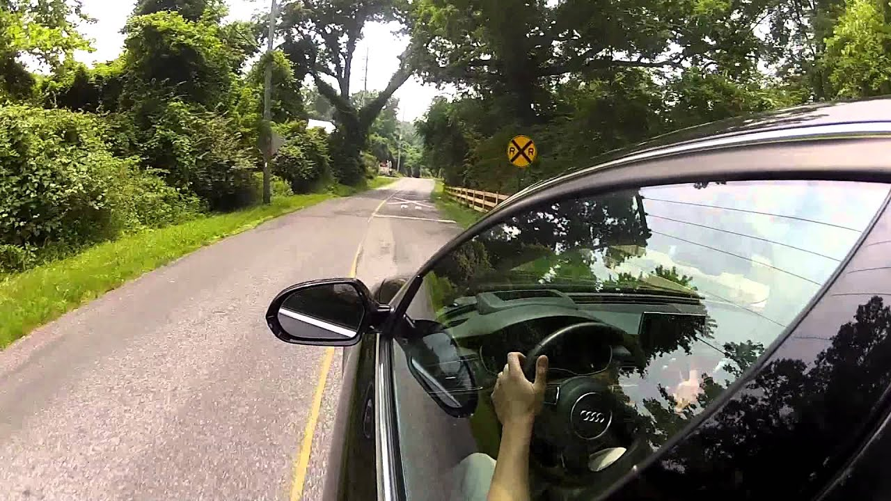 Part 1 of 2 2012 audi a6 3 0t quattro review and test drive driving impressions youtube