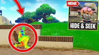 Fortnite WALL HACK Hide & Seek 2000 IQ spots! (Fortnite Battle Royale)