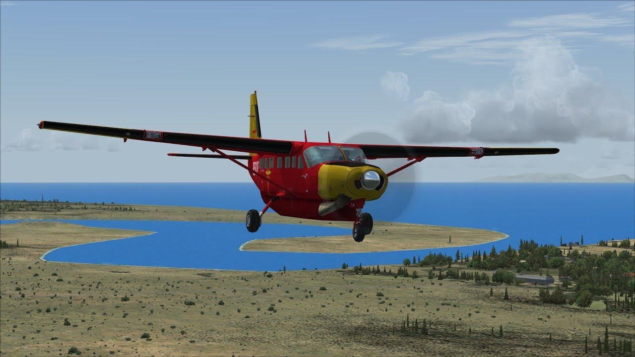 FSX/Flight Simulator X Arctic Rescue Mission Pack: 3 Kidney From Kenai