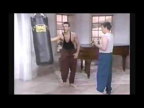 Jean Claude Van Damme | Karate and Technique Demonstration