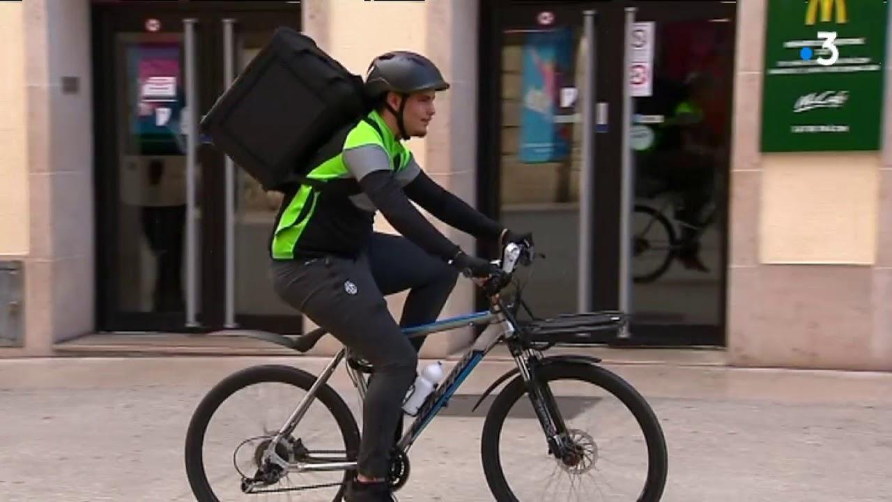 How To Cancel Uber >> Uber Eats, Deliveroo : à Dijon, la livraison à vélo de ...