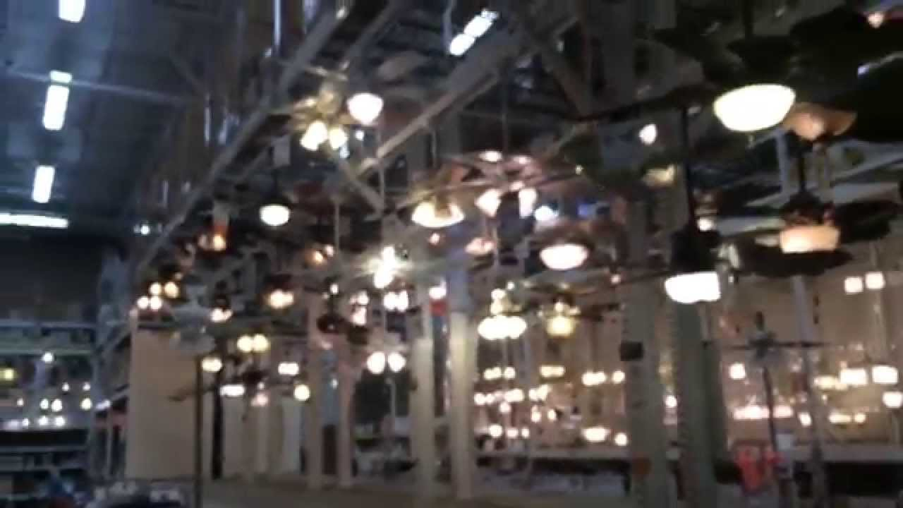 Ceiling fans on display at Home Depot in Salem MA 2015 YouTube