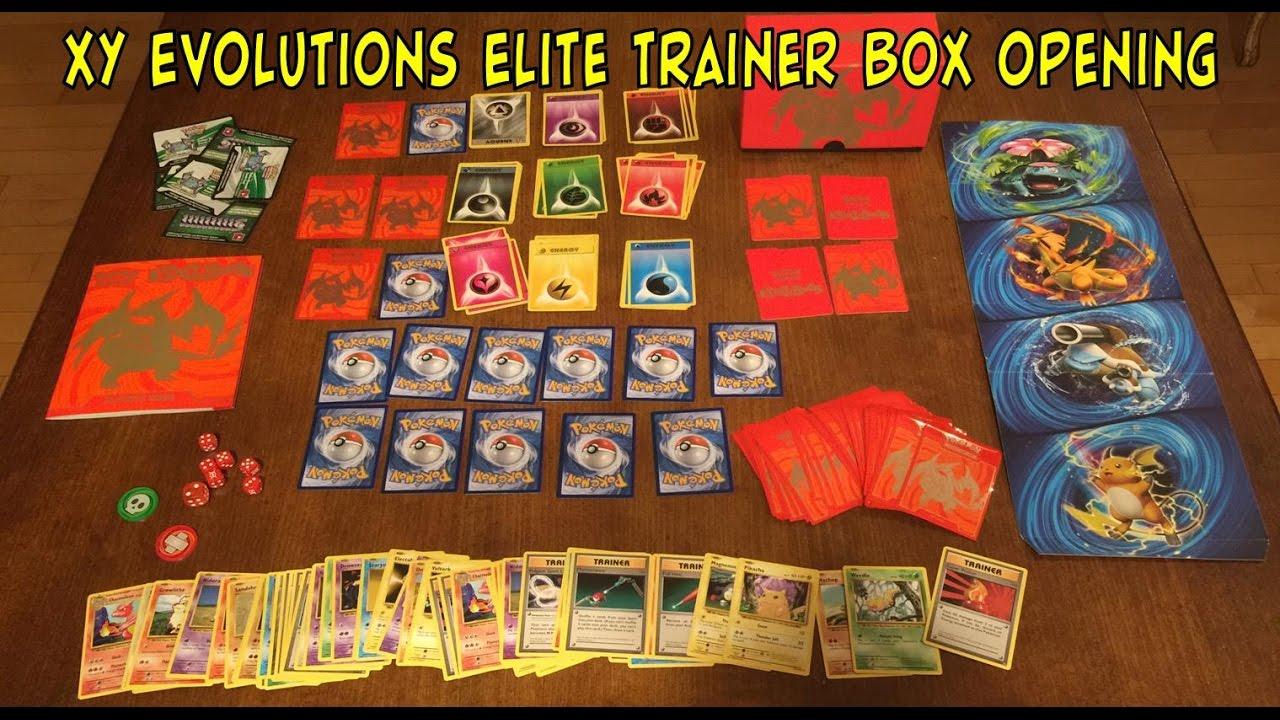 Evolutions Pokemon Elite Trainer Box Charizard
