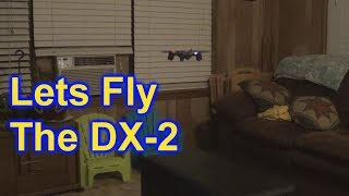 Sharper Image DX-2 Stunt Drone Fly and Flips DX2