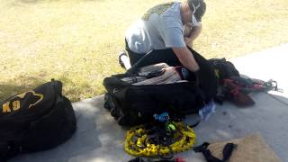 Carter K9 Equipment Training Bag.