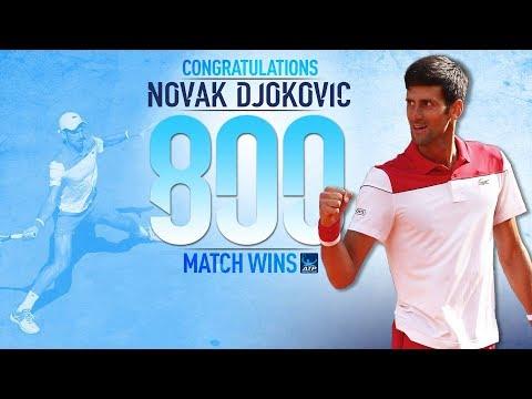 Djokovic Celebrates 800th Match Win At Queen's Club 2018