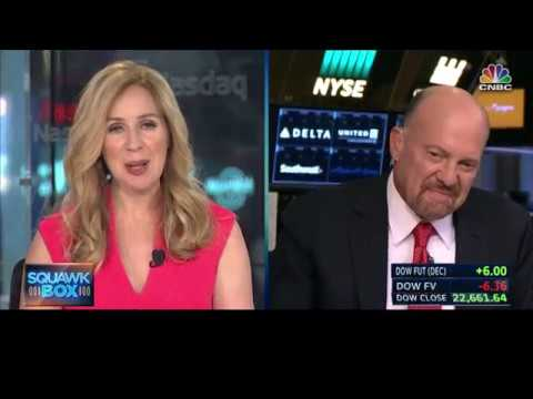 CNBC's Jim Cramer on ADP and Bill Ackman