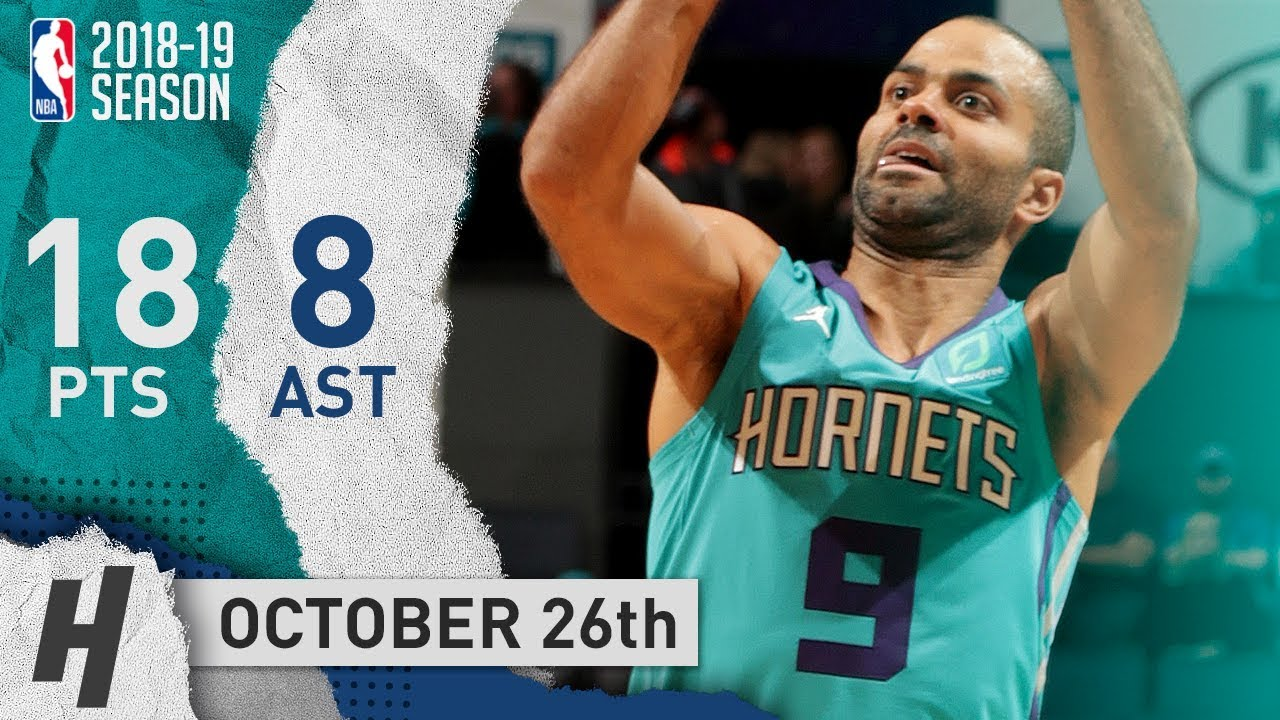 info for dbc88 6d6b1 Tony Parker Full Highlights Hornets vs Bulls 2018.10.26 - 18 Pts, 8 Ast off  the Bench