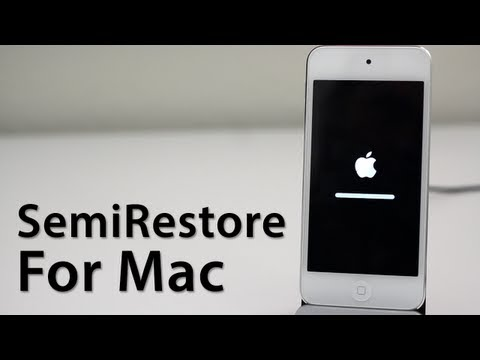 [Preview] SemiRestore For Mac - Restore An iOS Device Without Losing Your Jailbreak