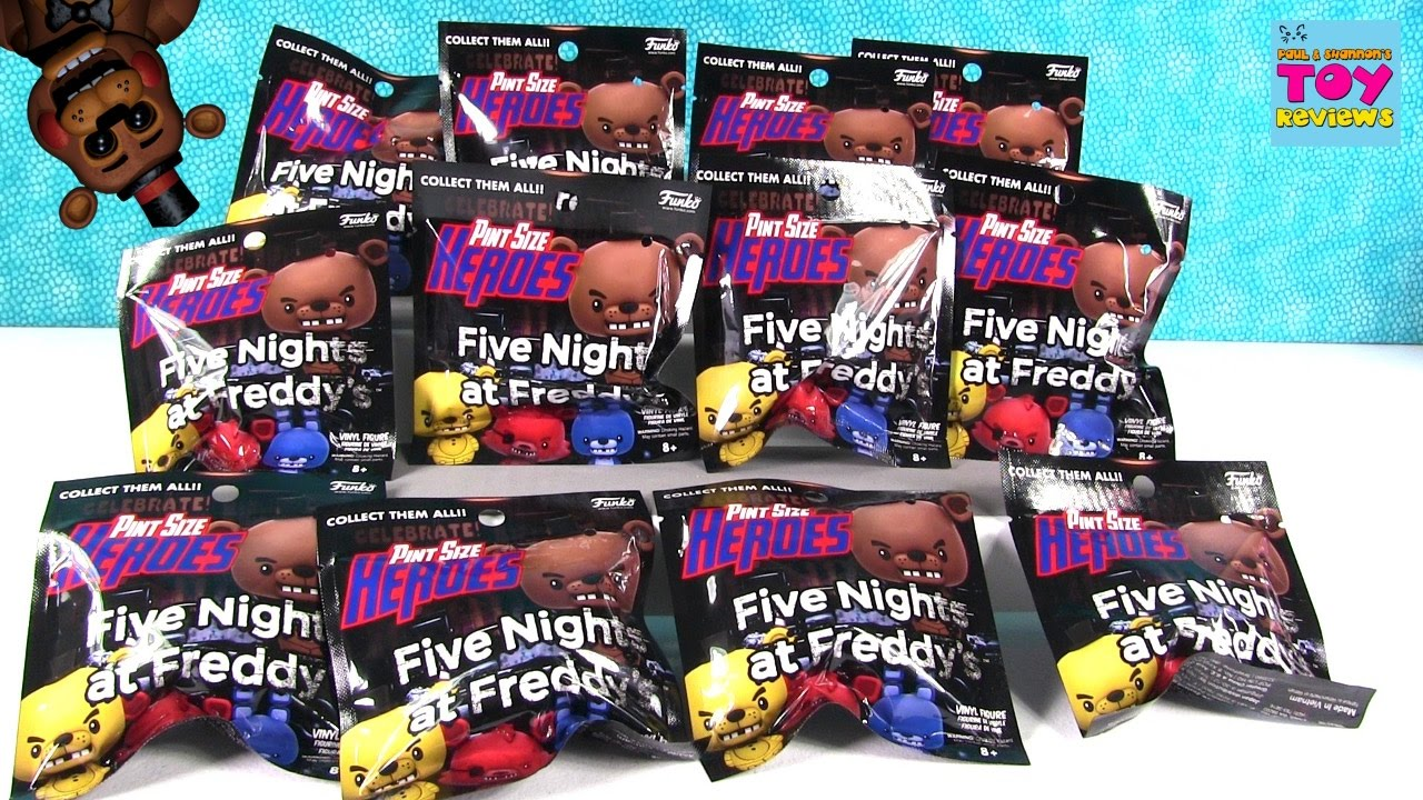 Fnaf Five Nights At Freddys Funko Pint Size Heroes Blind