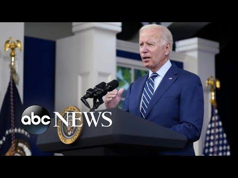 Biden speaking to Democrats over passing his agenda
