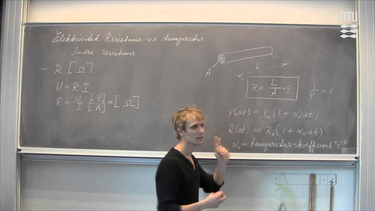 Fysik: Elektricitet, del 3 (repetition)