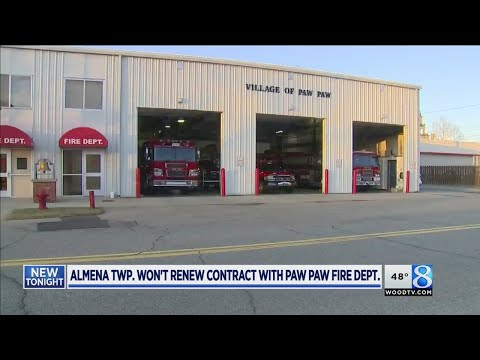 Almena Twp. won't renew contract with Paw Paw Fire Dept.