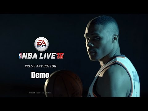 NBA Live 16 Demo PS4 HD 1080p
