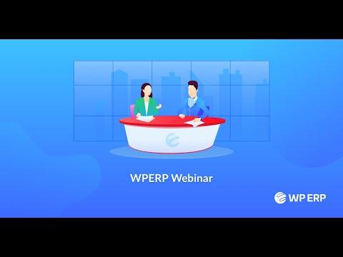 WP ERP Webinar