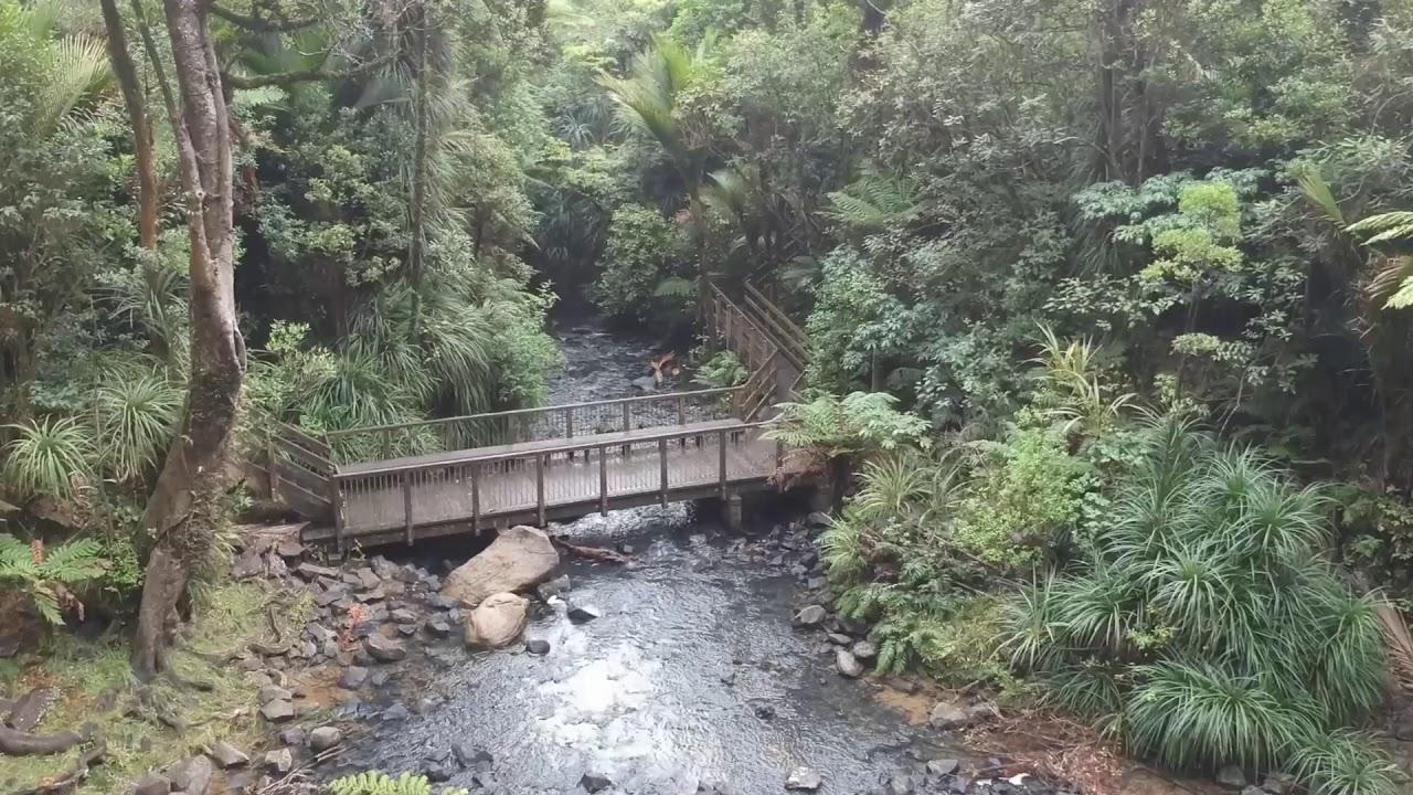 New Zealand Bridal Falls