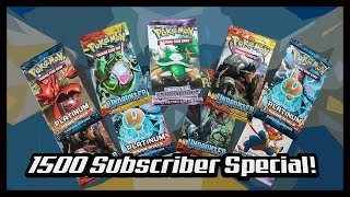 1500 Subscriber Special Stormfront, HS Undaunted And Rising Rival Booster Packs! Pokemon TCG