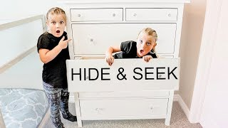 LAST TO BE FOUND WINS! Hide and Seek