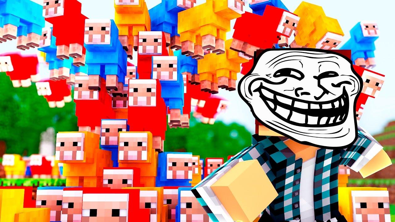Minecraft: TROLLAGEM DA CHUVA DE OVELHAS