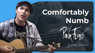 Comfortably Numb Chords Pink Floyd 1of4 Songs Guitar Lesson