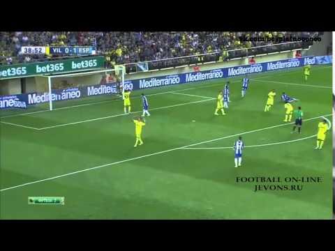 ไฮไลท์ฟุตบอล บียาร์เรอัล 3   1 เอสปันญ่อล Primera División   ไฮไลท์ฟุตบอล คลิปฟุตบอล HD