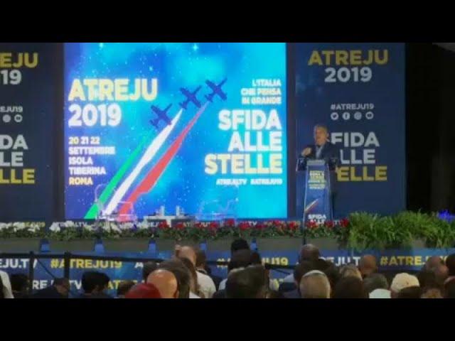 <span class='as_h2'><a href='https://webtv.eklogika.gr/atreju-2019-i-atzenta-tis-dexias-se-italia-kai-eyropi-2' target='_blank' title='Atreju 2019: Η ατζέντα της δεξιάς σε Ιταλία και Ευρώπη'>Atreju 2019: Η ατζέντα της δεξιάς σε Ιταλία και Ευρώπη</a></span>