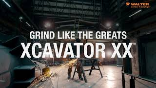 NEW! WALTER XCAVATOR XX™ – Ceramic Grinding Wheel – FREE DEMO NOW!