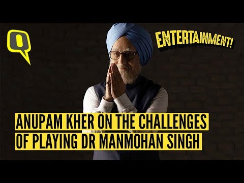Here's Anupam Kher's Message to Dr Manmohan Singh About His Film 'The Accidental Prime Minister'