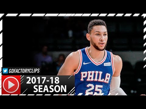 Ben Simmons Full PS Highlights vs Nets (2017.10.11) - 9 Pts, 8 Reb, 6 Ast