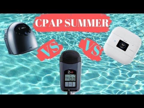 CPAP SUMMER FINALE (Part 5) // Best Travel CPAP ICH II Vs. Z2 Vs. DreamStation Go