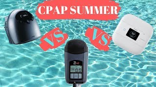 CPAP SUMMER FINALE (Part 5) // Best Travel CPAP ICH II Vs. Z2 Vs. DreamStation Go