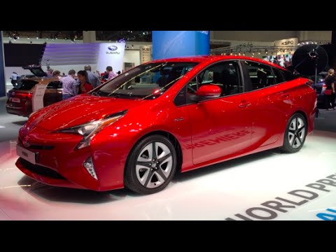Elegant Toyota Prius 2016 In Detail Review Walkaround Interior
