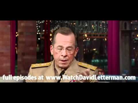 Michael Mullen in Late Show with David Letterman June 13, 2011