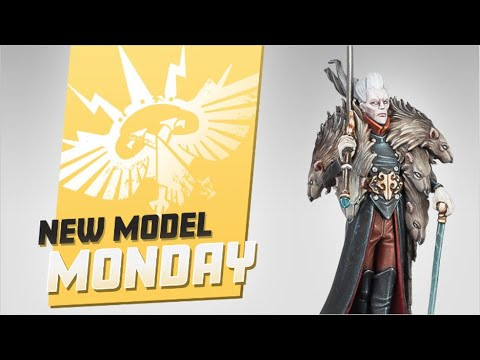 New Model Monday! The Cursed City New Soulblight - Rat Prince Kritza!  