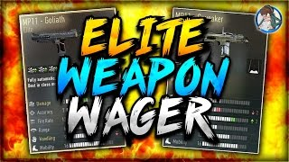 Advanced Warfare: INSANE MP11 GOLIATH WAGER! Intense Elite Weapon Wager (COD AW Elite Wager)
