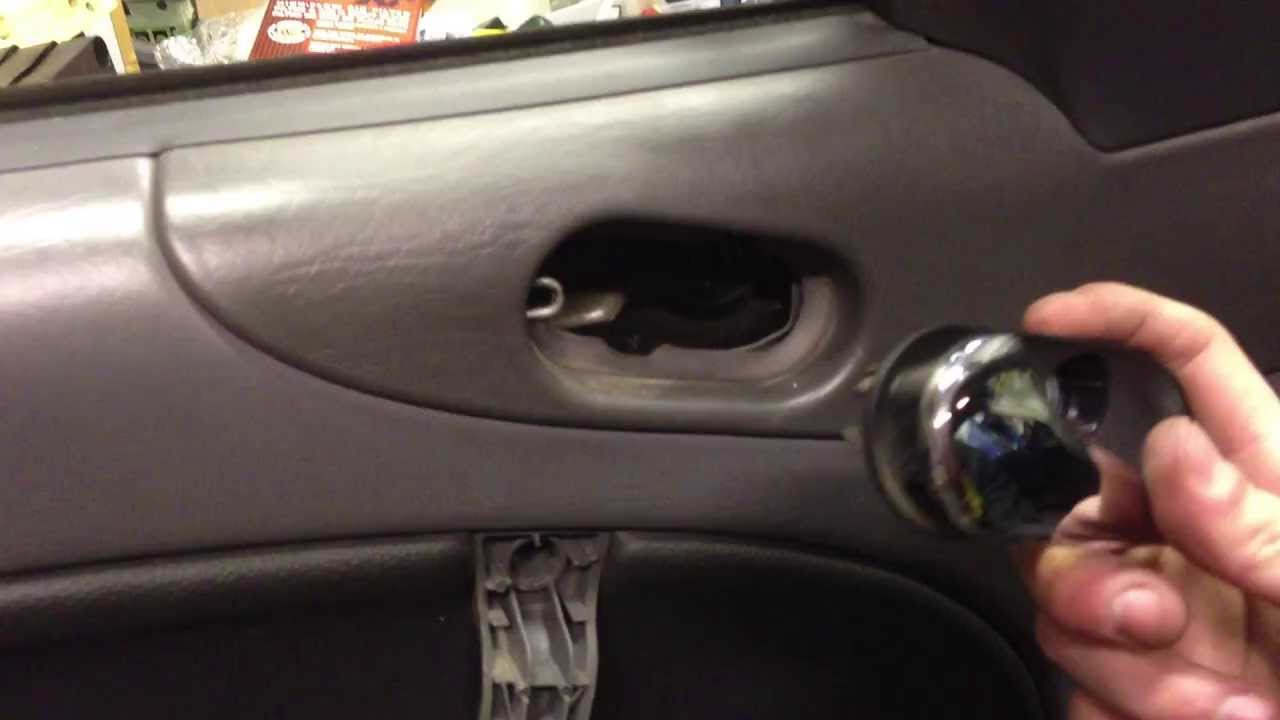 Trick For Refitting Interior Door Handle Saab 9 3 9 5 Probably Vauxhalls Too Youtube